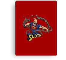 Super Sloth! Canvas Print