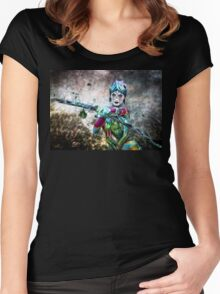 The Seer Women's Fitted Scoop T-Shirt