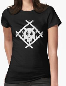 XWULF BLADES WHITE HOLLOWSQUAD Womens Fitted T-Shirt