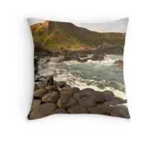 The Giants Causeway Throw Pillow