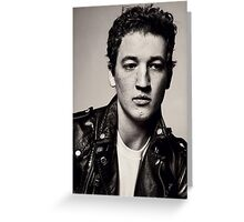 Miles Teller, Dreamboat Extraordinaire Greeting Card