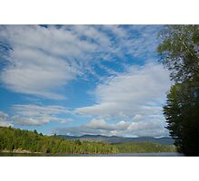 Big Sky in Little Country Photographic Print