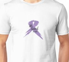 So Loved Be Healed All Cancer Ribbon Unisex T-Shirt
