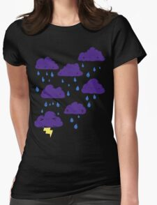 Melbourne Weather Womens Fitted T-Shirt
