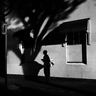 Standing in the shadows by athex