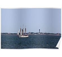 Three Masts Poster