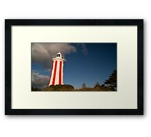 Devonport Lighthouse-Revisited Framed Print