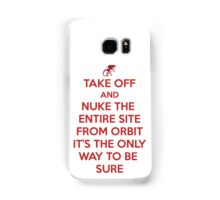 Take off and Nuke it Samsung Galaxy Case/Skin