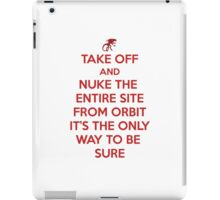 Take off and Nuke it iPad Case/Skin
