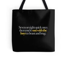 Young Frankenstein - Seven or eight quick ones,,, Tote Bag