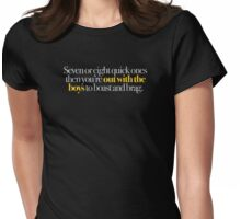 Young Frankenstein - Seven or eight quick ones,,, Womens Fitted T-Shirt