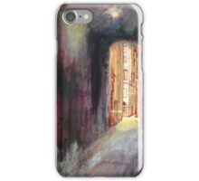 Old town alley iPhone Case/Skin