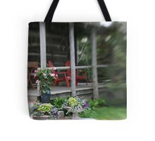 Little Red Chairs Tote Bag