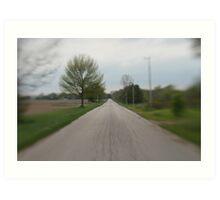 Take me home country road Art Print