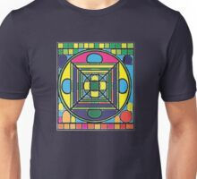 Larravide Stained Glass Mandala  Unisex T-Shirt