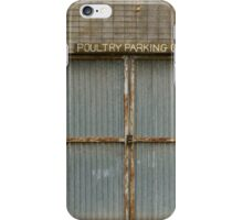 Poultry Parking iPhone Case/Skin