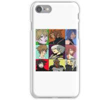 The Heros and Villians of Kingdom Hearts iPhone Case/Skin