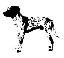 3 Dog Sticker