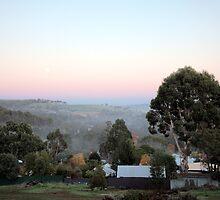 Sunrise in Bridgetown, Western Australia by Victoria Nightingale
