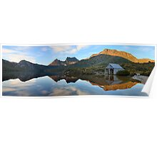 Dove Lake Boat Shed, Cradle Mountain, Australia Poster