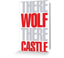 Young Frankenstein - There wolf there castle Greeting Card
