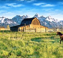 High Mountain Ranch by Walter Colvin
