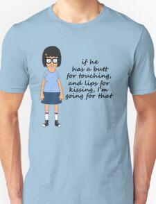 Tina Belcher Butts Unisex T-Shirt