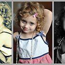 My Handmedown Dress and Finest Pearls -365 Day Project by laruecherie