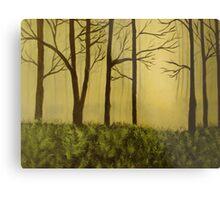 The Woods Metal Print