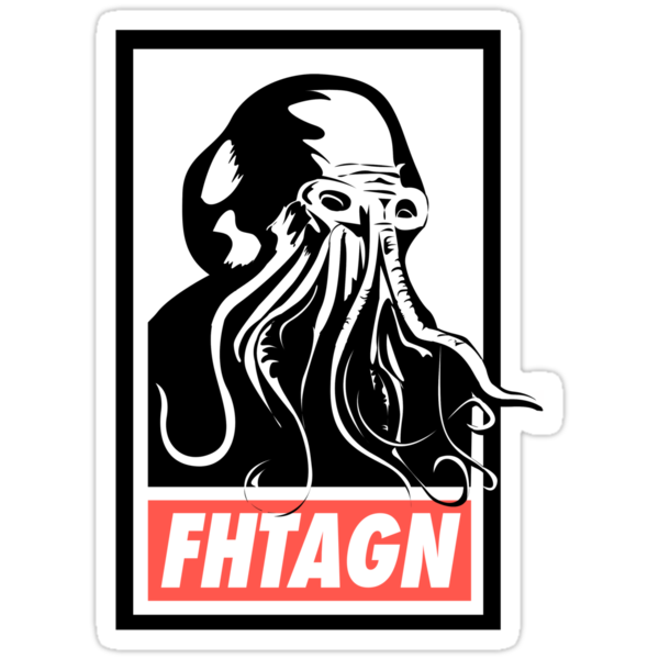 Cthulhu Fhtagn by merrypranxter