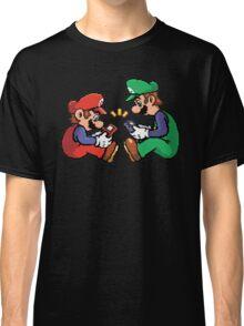mario and luigi pixel Classic T-Shirt