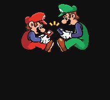 mario and luigi pixel T-Shirt