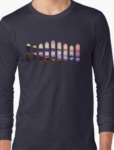Sufjan Stevens Beach Oregon Design Long Sleeve T-Shirt
