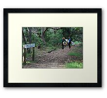 Come with Us to Dreamtime Framed Print