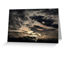 phenomena. north indian sky Greeting Card