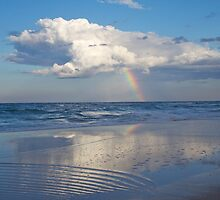 Blue Whites and Rainbow by BradBaker