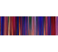 Moviebarcode: Aladdin (1992) Photographic Print