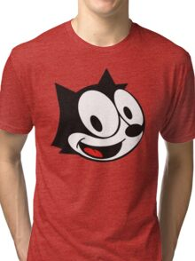 smiling felix the cat Tri-blend T-Shirt