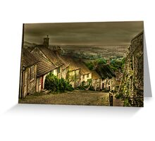 Gold Hill Greeting Card