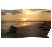 Sun Set Wide Screen Poster