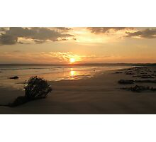 Sun Set Wide Screen Photographic Print