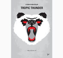 No344 My TROPIC THUNDER minimal movie poster Unisex T-Shirt