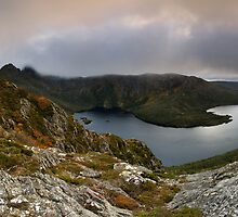 Hansons Saddle Panorama by Robert Mullner