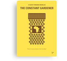No345 My Constant Gardener minimal movie poster Canvas Print