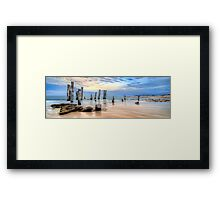 Moods Of Port Wilunga Panorama Framed Print