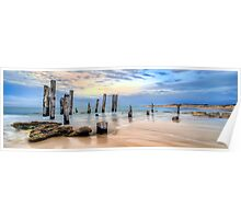 Moods Of Port Wilunga Panorama Poster
