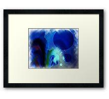 CERES in BLUE Framed Print