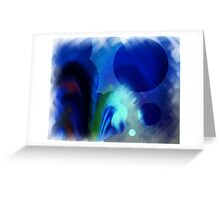 CERES in BLUE Greeting Card
