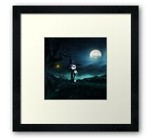 Witch at The Nightmare Framed Print