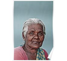 Rural Indian Women Poster